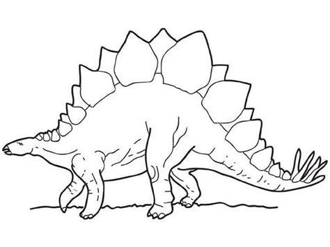 walking stegosaurus coloring pages hellokids com