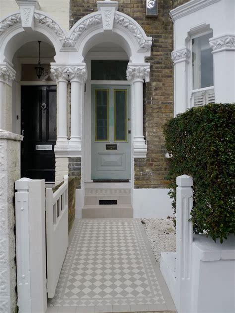 victorian mosaic tile path design london