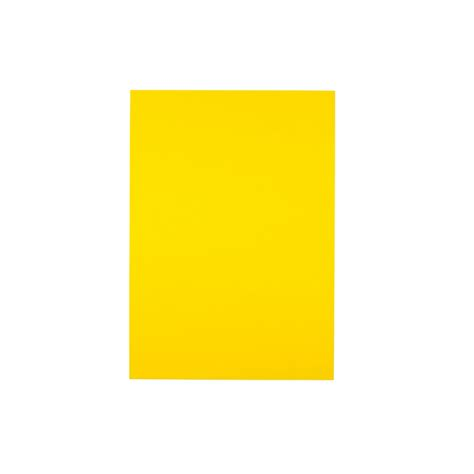 Card A4 a4 yellow 200gsm coloured card pack of 10 sheets card paper from crafty crocodiles uk