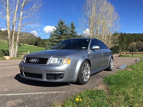 old car manuals online 2003 audi rs 6 navigation system clean 71k mile 2003 audi rs6 bring a trailer