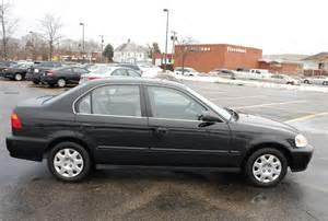 1999 Honda Civic Sedan 1999 Honda Civic Lx 4d Sedan One Owner