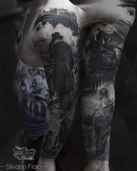 black and grey realism tattoo artists black and grey realistic tattoos by silvano fiato inkppl