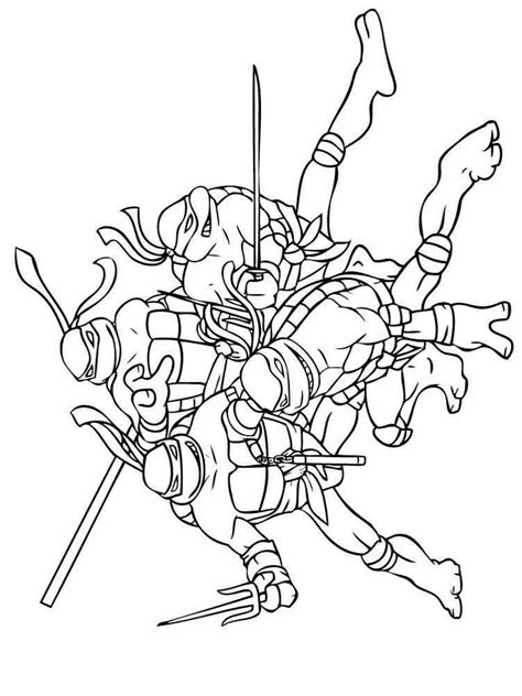 super ninja coloring pages mutant ninja turtles coloring pages download and print