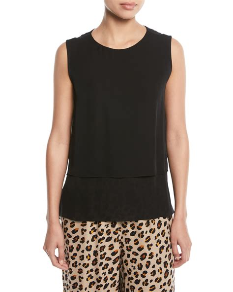 Kara Blouse kobi halperin kara layered sleeveless blouse and matching