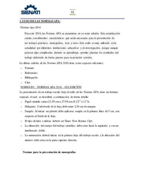 formato tesis uis monografias senati arequipa tarea tece 201620 grupo a
