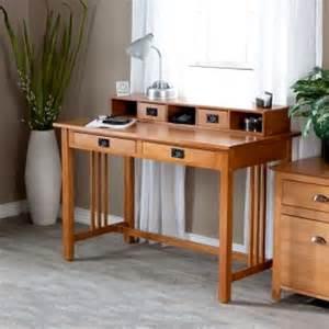 Mission Oak Computer Desk Office Furniture Mission Furniture Craftsman Furniture