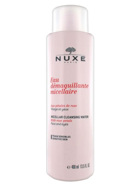 Cleansing Water nuxe micellar cleansing water with petals 400ml cocooncenter