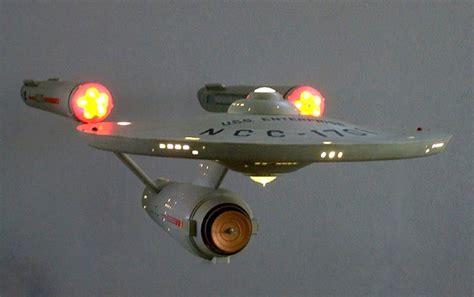 starship enterprise model with lights polar lights 1 350 scale quot trek quot uss enterprise ncc