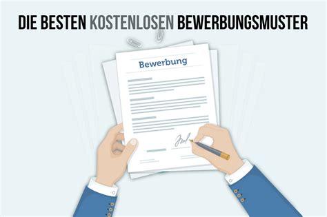 Bewerbung Design Vorlage by Bewerbungsmuster 40 Gratis Design Vorlagen Karrierebibel De