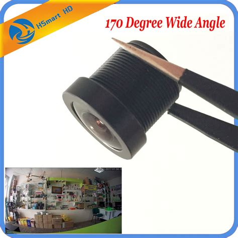 Cctv Wide Angle aliexpress buy cctv 1 8mm security lens 170 degree wide angle cctv fish eye lens for ir