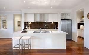 white kitchen floors white kitchen timber flooring home