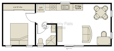Affordable Home Designs by 1 Bedroom Granny Flat Archives Granny Flats Australia