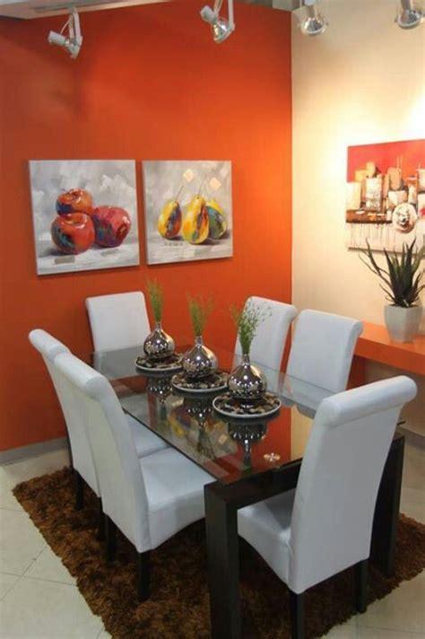 toque de color en el comedor decoraciones hogar en