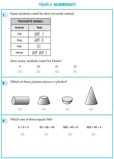 quiz questions year 3 year 3 naplan maths practice test studyladder online