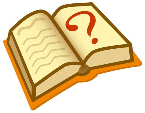 Or Question Book File Question Book New Svg