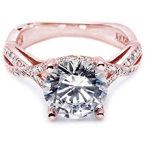 best gold pink engagement rings ideas