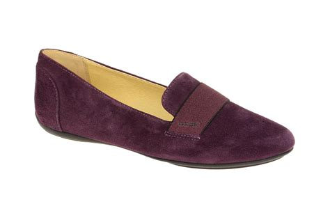 slipper factory geox charlene j schuhe in violett lila damen slipper shop