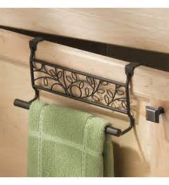 kitchen towel holders twigz kitchen towel holder bronze in kitchen towel holders