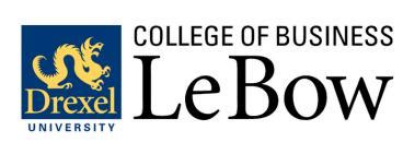 Drexel Part Time Mba Cost by Accelerated Mba At Lebow College Of Business