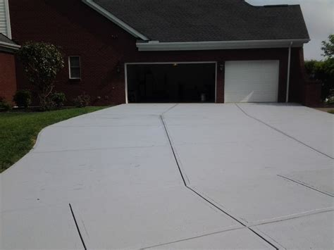 medium gray concrete driveway paint ar350 with medium gray color tint by founda