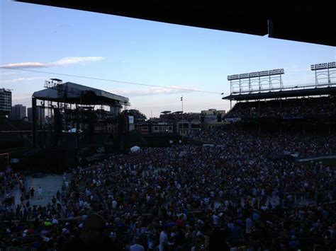 section 205 wrigley field wrigley field section 205 concert seating rateyourseats com