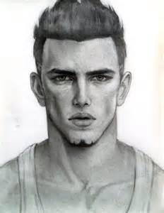 male face sketch by jjcu on deviantart