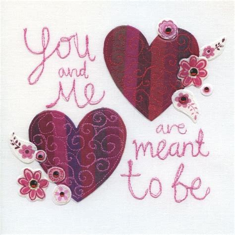 Where To Buy Love To Shop Gift Card - hand finished you me valentine s day card karenza paperie