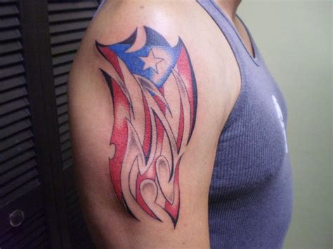 puerto rican flag tattoo design 1000 images about tattoos on the