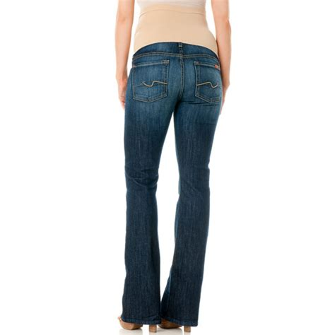 boot cut new york dark 7 for all mankind a petite bootcut maternity jeans new