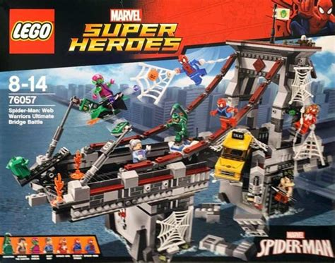 Set 3in1 Batman Vs Spider lego spider bridge wishlist collectibles toys