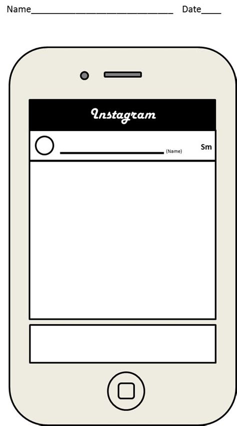 Http Www Teacherspayteachers Com Product Instagram Exit Slip Template 1564620 Exit Slips And Instagram Template For Students