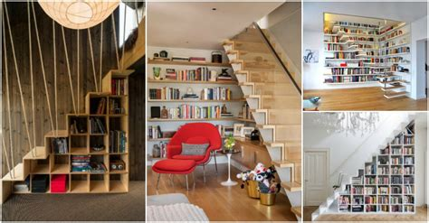 Smart Under Stairs Book Storage Ideas You Should See
