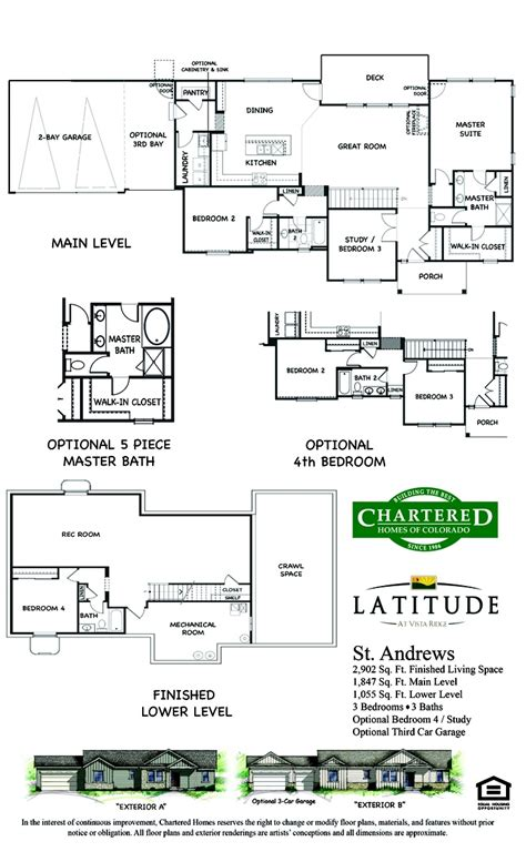 latitude floor plan st andrews floor plan latitude floor plans pinterest