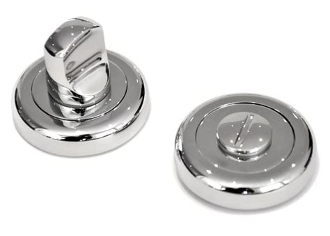 chrome bathroom door knobs bathroom door turn knob with a radius edge rose chrome