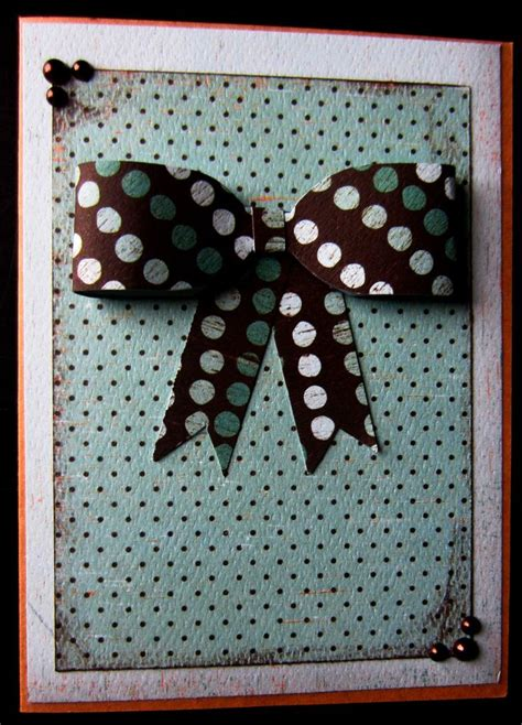 Handmade Cards Using Ribbon - 51 best images about cards bows ribbon on