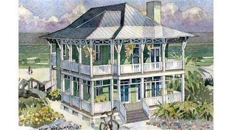 seaside house plans seaside escape benjamin showalter southern living