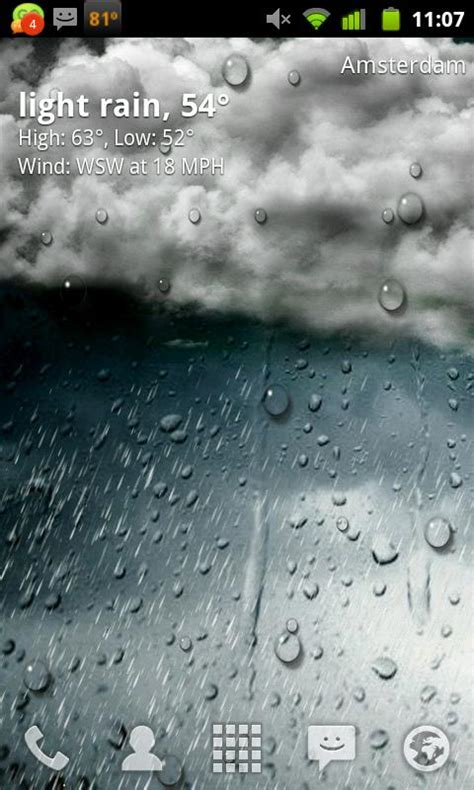 Htc Phone Live Wallpaper by Htc Live Weather Wallpaper Gallery