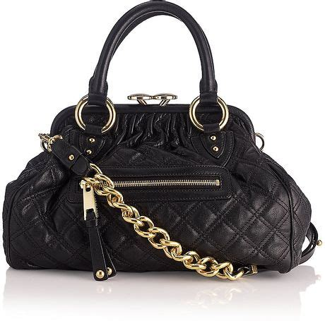 Marc Quilted Fabric Stam Bag by Marc Mini Quilted Stam Bag In Black Lyst