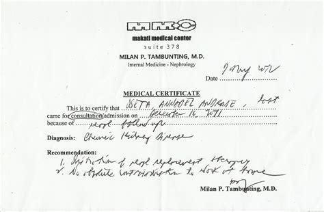 medical certificate content sample archives save medical fitness