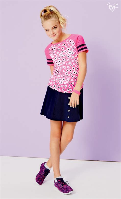 best tween clothing stores pair our button front skirt with built in shorts with a