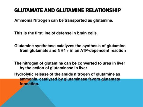 How To Detox Ammonia From Brain by Amino Acid Metabolism