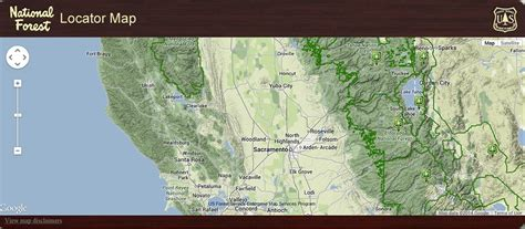 forest service region map usda forest service region 5 gis and remote sensing mb g