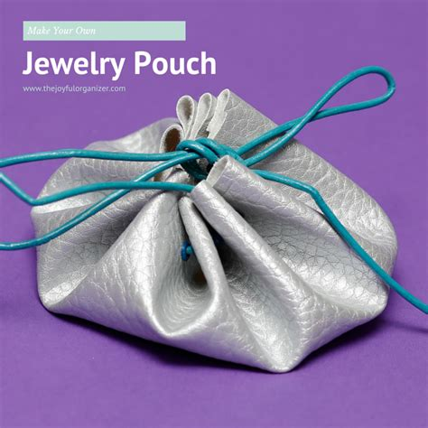 make your own jewelry organizer make your own jewelry pouch the joyful organizer