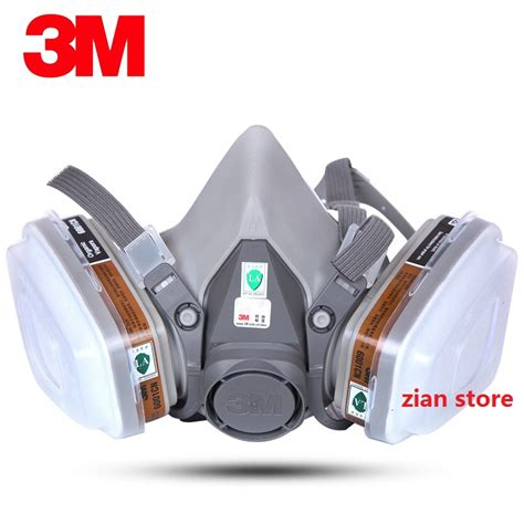 Masker Untuk Painting aliexpress buy 3m 6200 chemical gas mask 7 suit 3m 6001 filter paint spray respirator anti