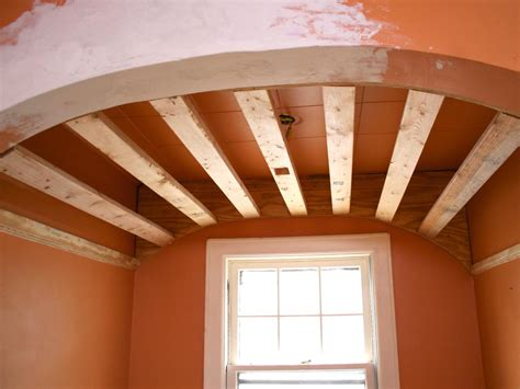 how to create a barrel ceiling in small nook hgtv