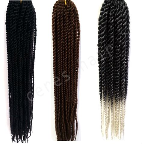 how many packets of braids is needed to do kinky twists factory wholesale 100g packet 16 24inch senegalese twist