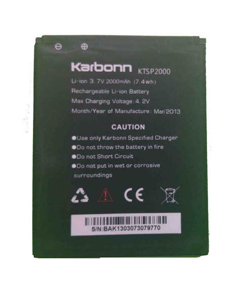 Batt Original Evercoss 4lc A7 karbonn titanium s5 with 2000 mah original mobile battery batteries at low prices