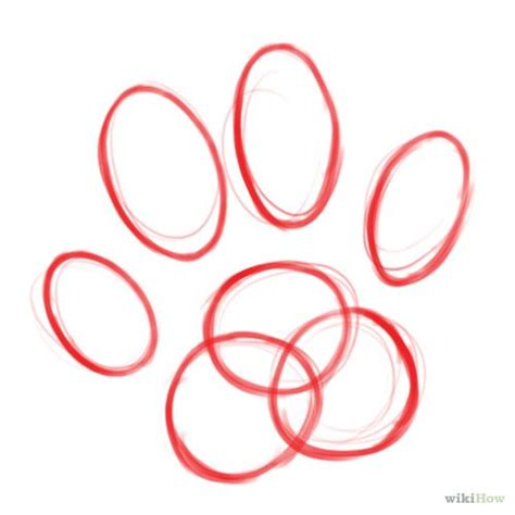how to draw a paw how to draw a cat paw with pictures wikihow laundry rm cat paws