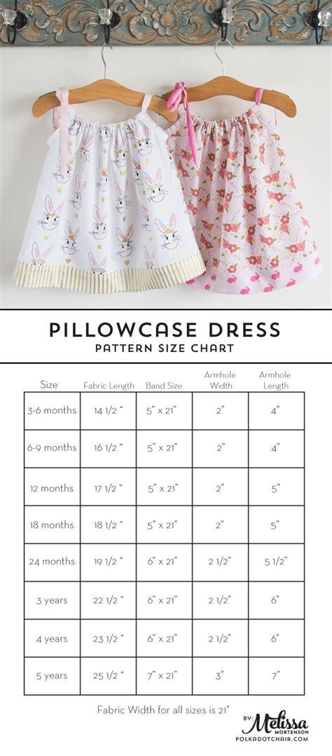 pillowcase dress tutorial the polka dot chair