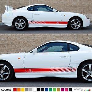 Stiker Sticker Striping Toyota Kijang Grand sticker decal stripe kit for toyota supra wing carbon